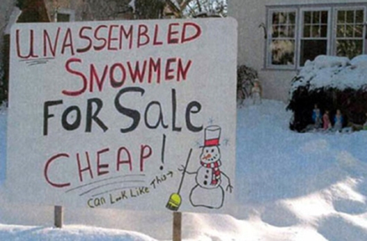 snowman making services