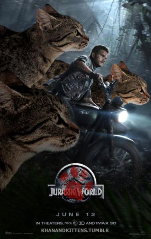 cat jurassic park world