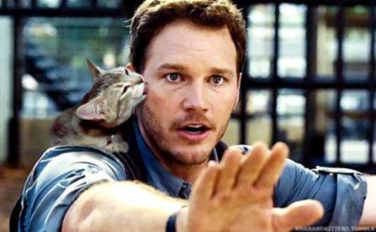 Jurassic park world cats