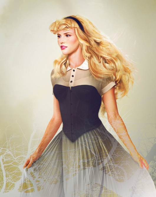 real disney princess aurora
