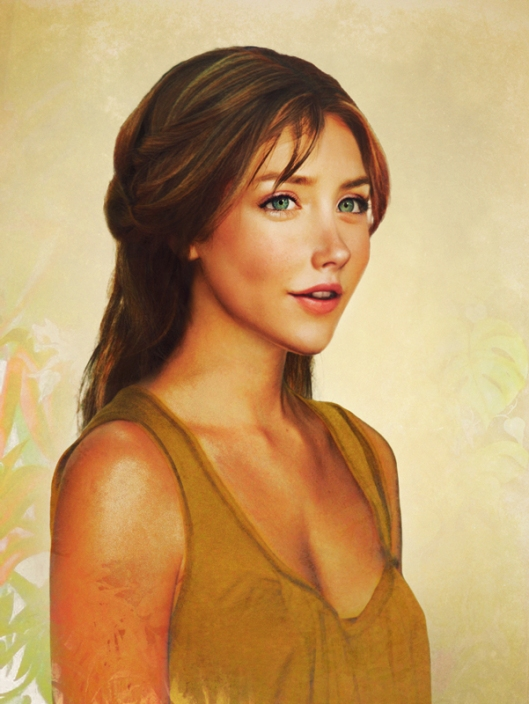 jane tarzan portrait