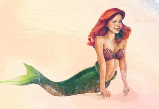real disney princess ariel