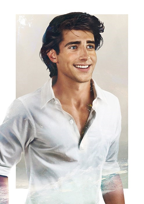 real prince eric little mermaid