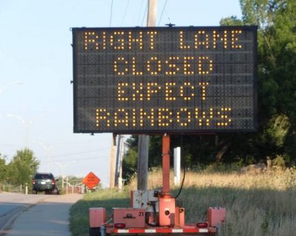 expect rainbows