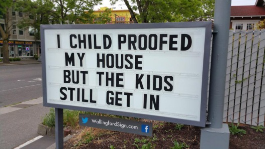 I child proofed my house but the kids still get in