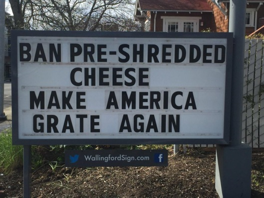 ban pre-shredded cheese, make america grate again