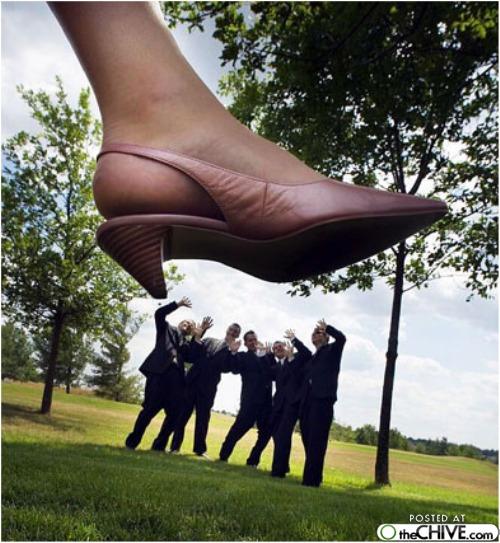 squish the groomsmen wedding pic