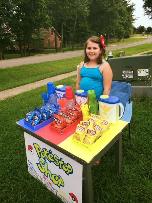 Pokemon GO entrepreneur selling chips mystic instinct valor teams