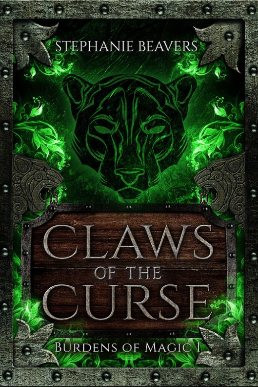 Claws of the Curse fantasy novel book cover