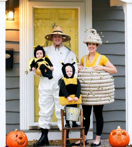 beekepers bees hive costumes
