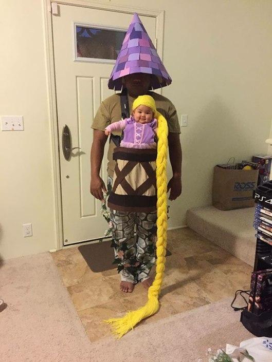 Rapunzel costume halloween