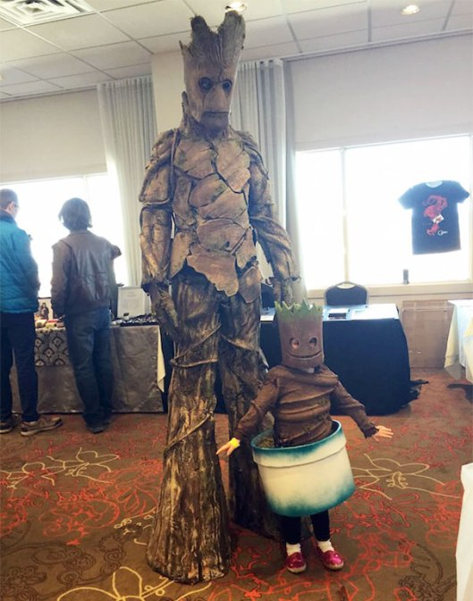 I am Groot costume