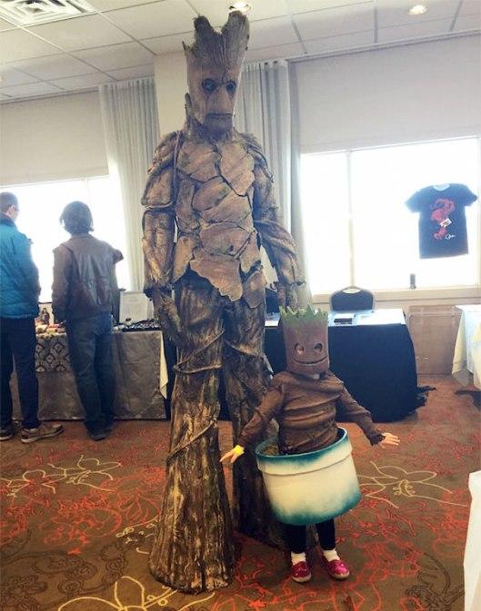 I am Groot costume
