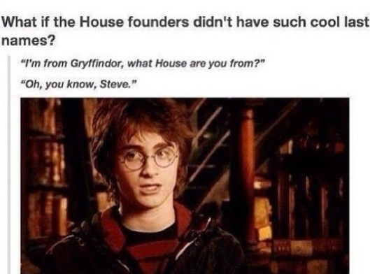 Harry Potter what house are you from